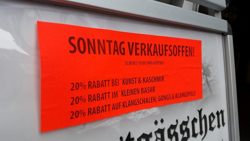 Verkaufsoffener Sonntag Kunstgässchen Koblenz