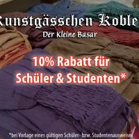 Rabatt für Schüler & Studenten